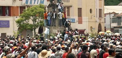Demo in Antananarivo: Volkszorn auf Präsident Ravalomanana