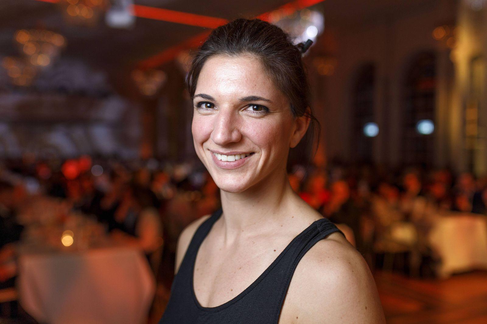 Nadine Apetz bei der Kölschen SportNacht 2017 in der Flora Köln 25 03 2017 Foto xC xHardtx xFuture