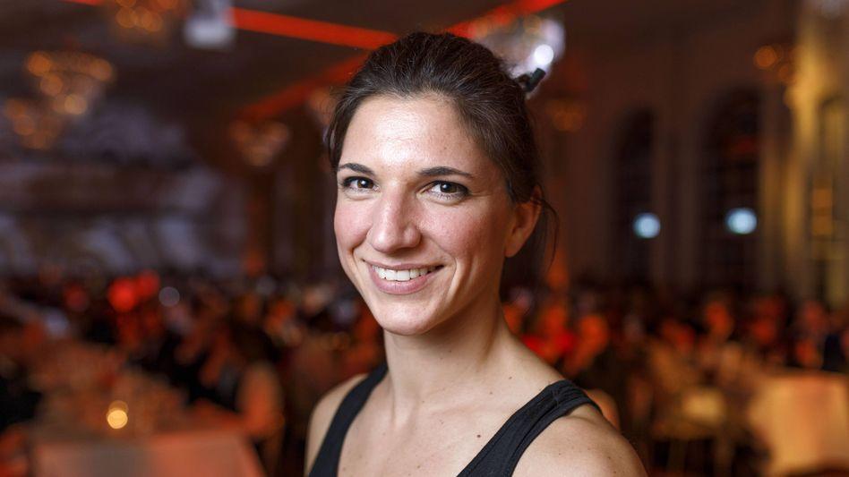 Die deutsche Boxerin und DBV-Athletensprecherin Nadine Apetz