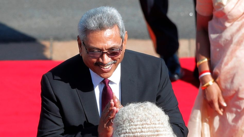 Sri Lankas Präsident Gotabaya Rajapaksa (Archivfoto): Parlament vorzeitig aufgelöst