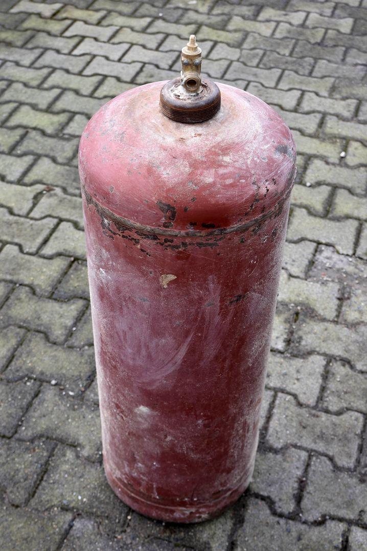 Verdächtige Gasflasche: War es Mord?