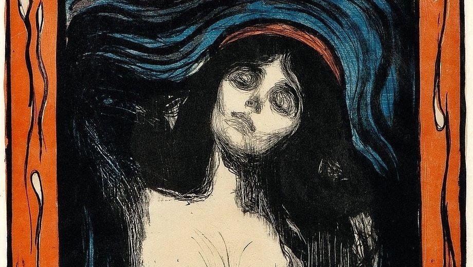 """Munch-Werk """"Madonna"""", 1895/1902Abgründig, verführerisch – und von zu vielen begehrt"""