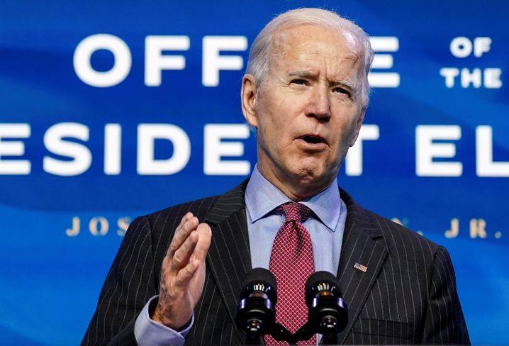 Joe Biden übernimmt am 20. Januar die Präsidentschaft von Donald Trump