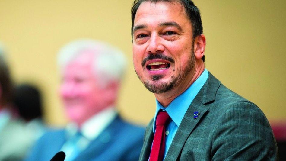Landtagsabgeordneter Förster 2016: »Durchs Leben getobt wie eine ungezähmte Wildsau«
