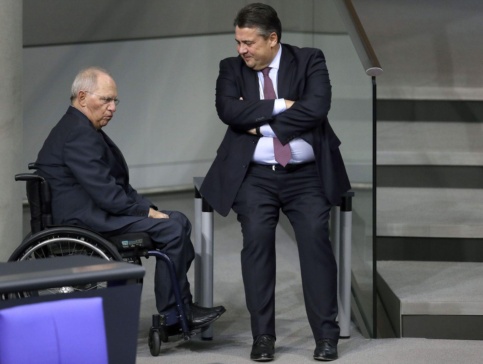 Schäuble / Gabriel
