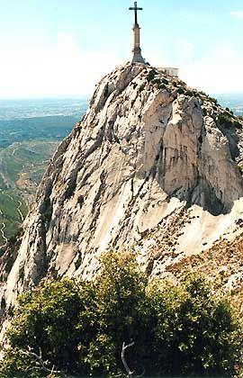 """Das """"Kreuz der Provence"""": der Blick vom Saint-Victoire"""