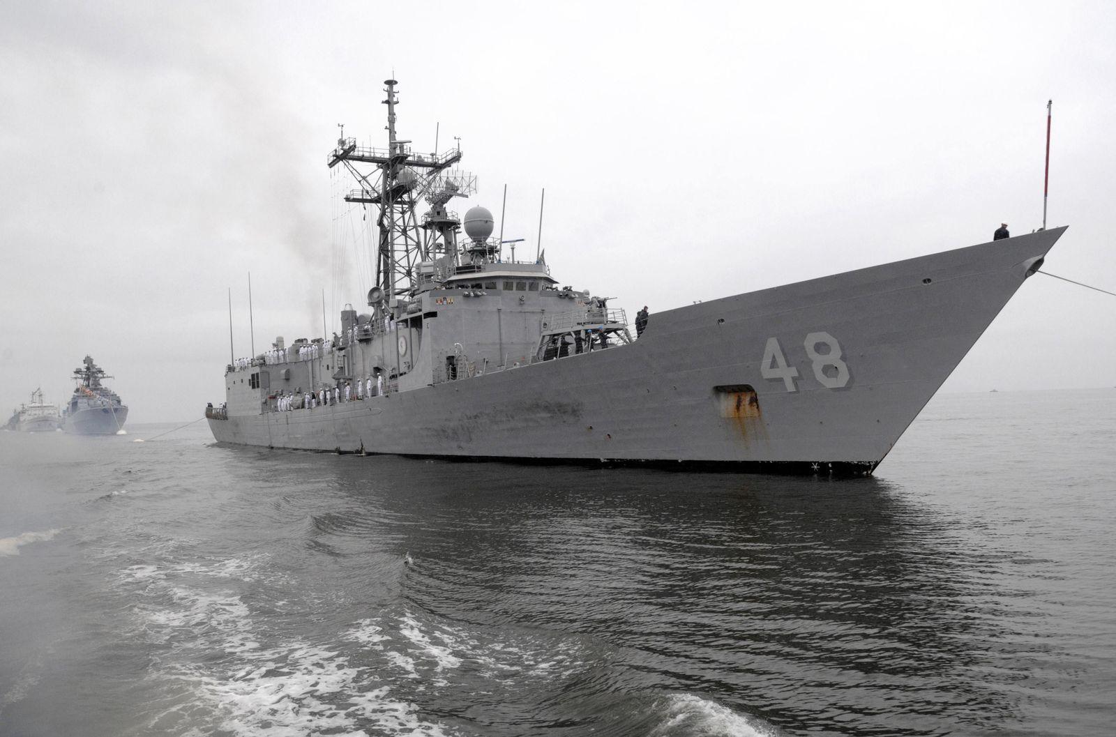 USS Vandegrift/ Navy
