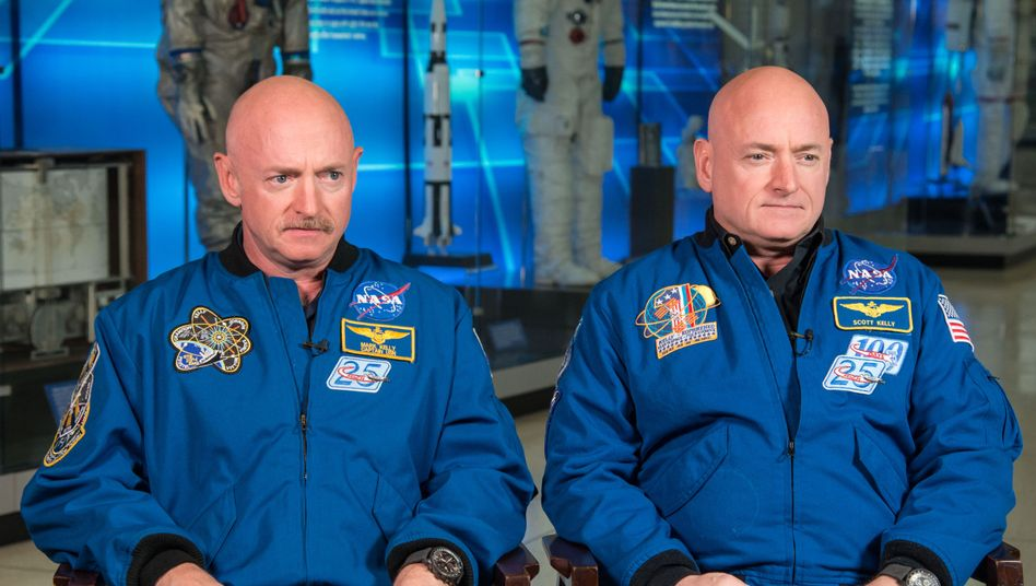 Zwillinge mit einer Mission: Astronaut Scott Kelly (r.) und Bruder Mark Kelly
