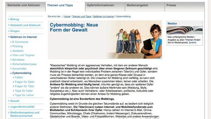 Netz-Polizei: Diese Seiten helfen bei Cybermobbing