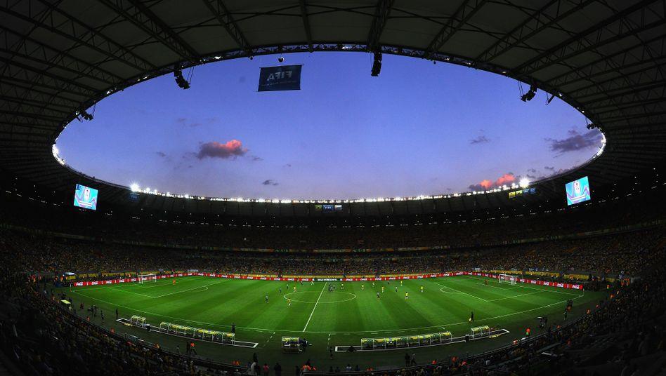 WM-Stadion in Belo Horizonte: Ab zehn Euro zu einem Gruppenspiel