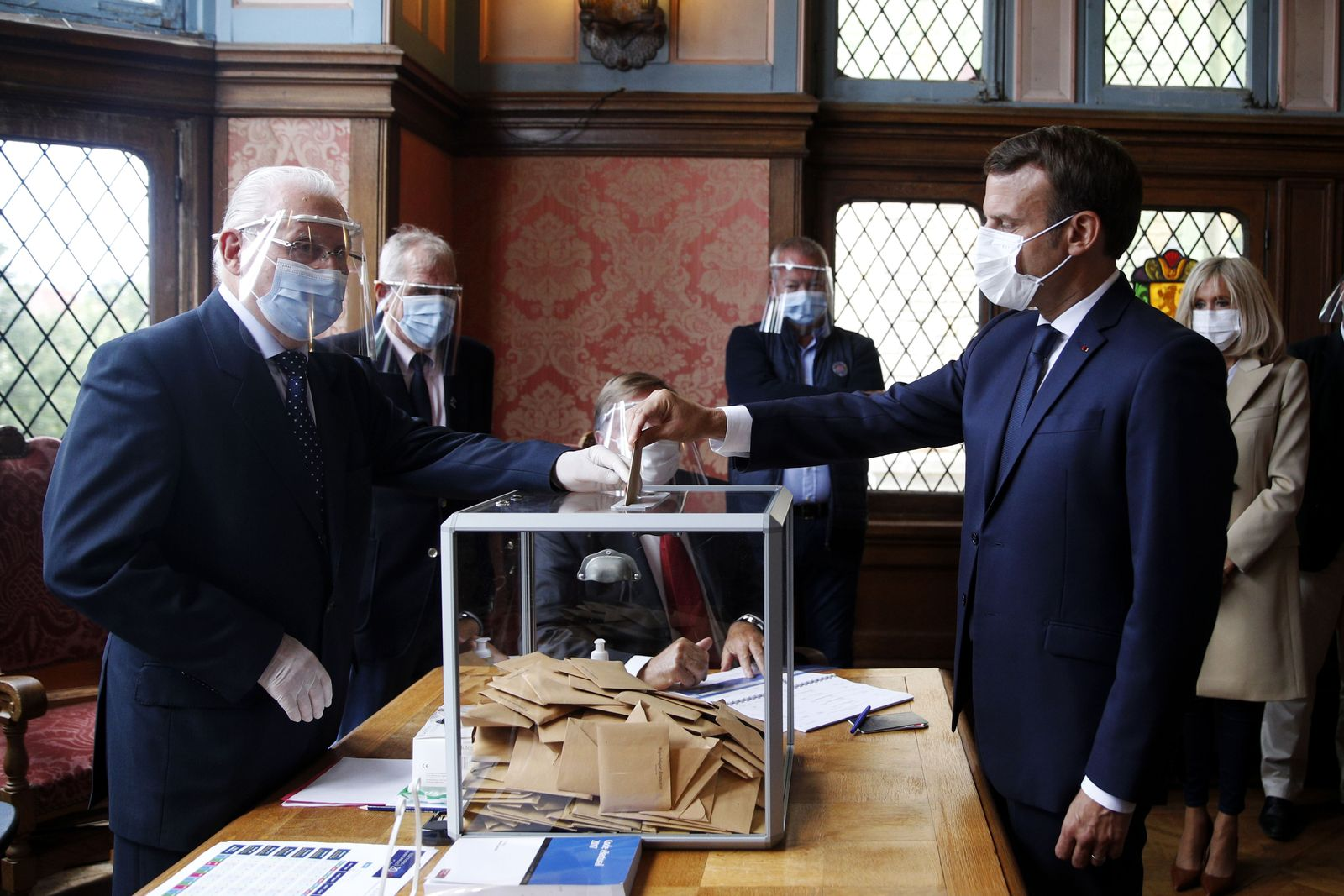 French municipal election in Le Touquet, France - 28 Jun 2020