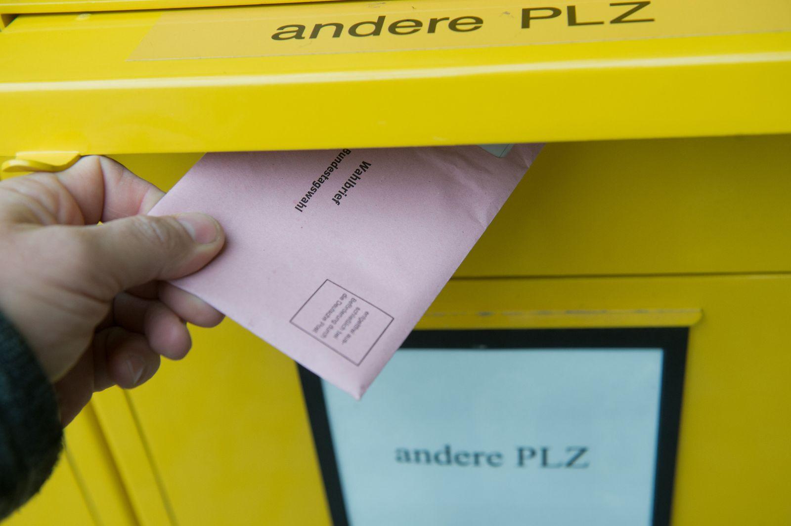 Bundestagswahl - Briefwahl