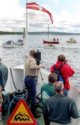 Storsjön-See 1998: Nessie-Jäger Adrian Hunt sucht das schwedische Monster