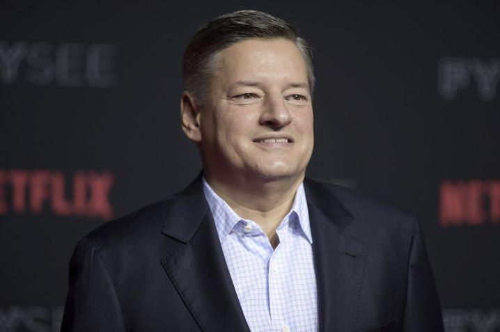 Klare Ansage: Netflix-Programmchef Ted Sarandos (Ende Mai in Los Angeles)