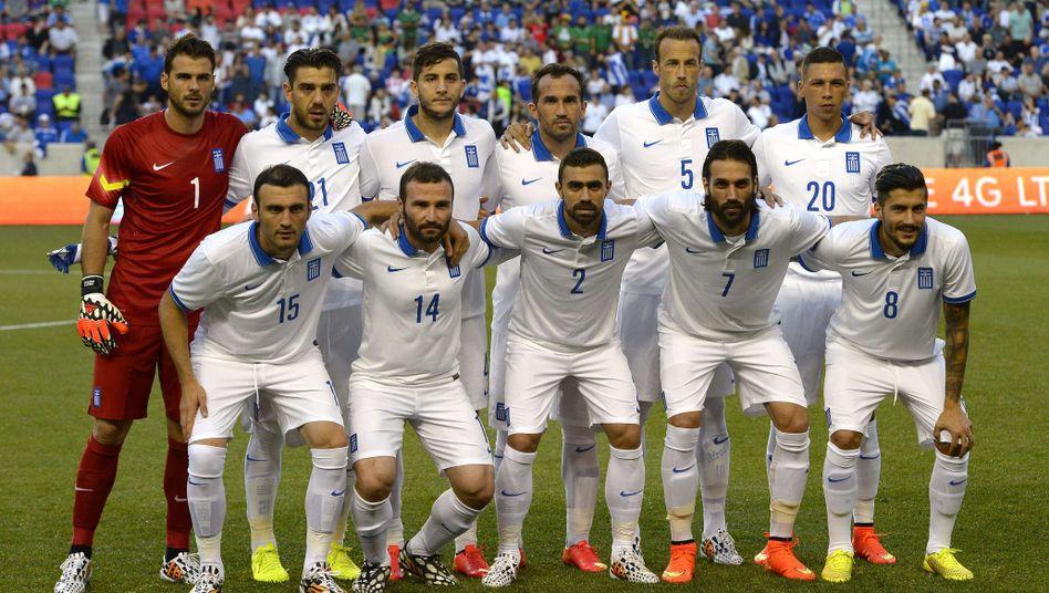 Griechische Fußballnationalmannschaft Spieler