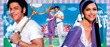 """Shah Rukh Khan und Deepika Padukone erobern Filmfans Schlag auf Schlag - auch in der neuen Bollywood-Romanze """"Om Shanti Om"""""""