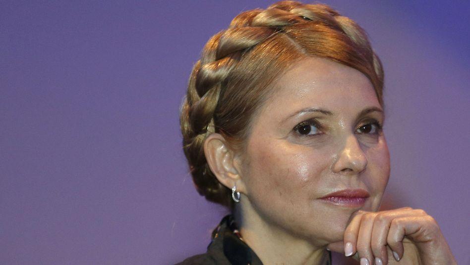 Ex-Regierungschefin Timoschenko: Wenig staatsmännisch