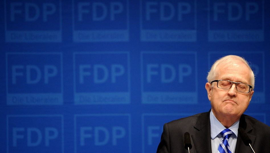 FDP-Fraktionschef Brüderle: Steigender Druck auf den Spitzenmann