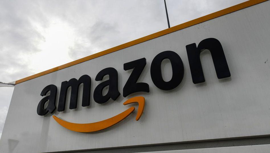 Amazon-Zentrum in Frankreich