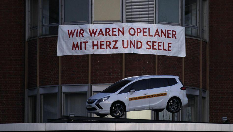 """Modell des in Bochum produzierten Zafira: """"Sehr bitter"""" für die Betroffenen"""