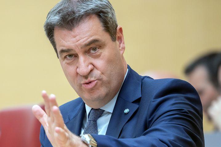 Markus Söder könnte noch immer als Kanzlerkandidat kandidieren