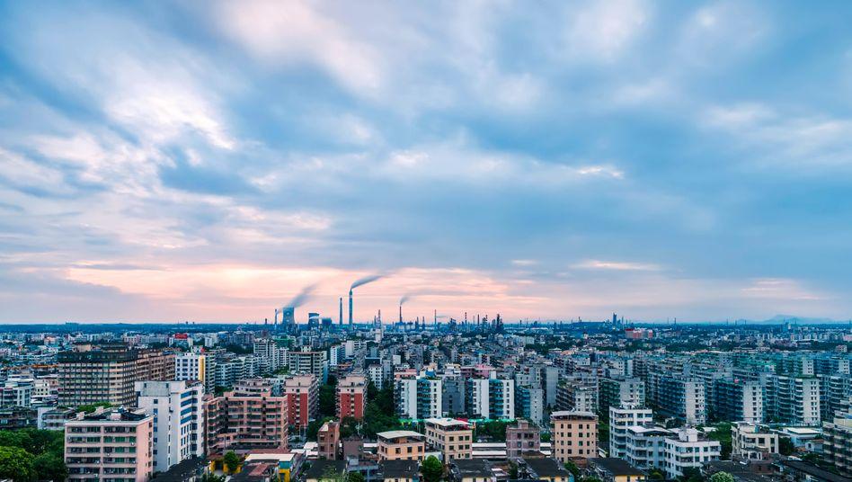 Der Ozonwert folgt dem Anstieg der Nutzung fossiler Brennstoffe.
