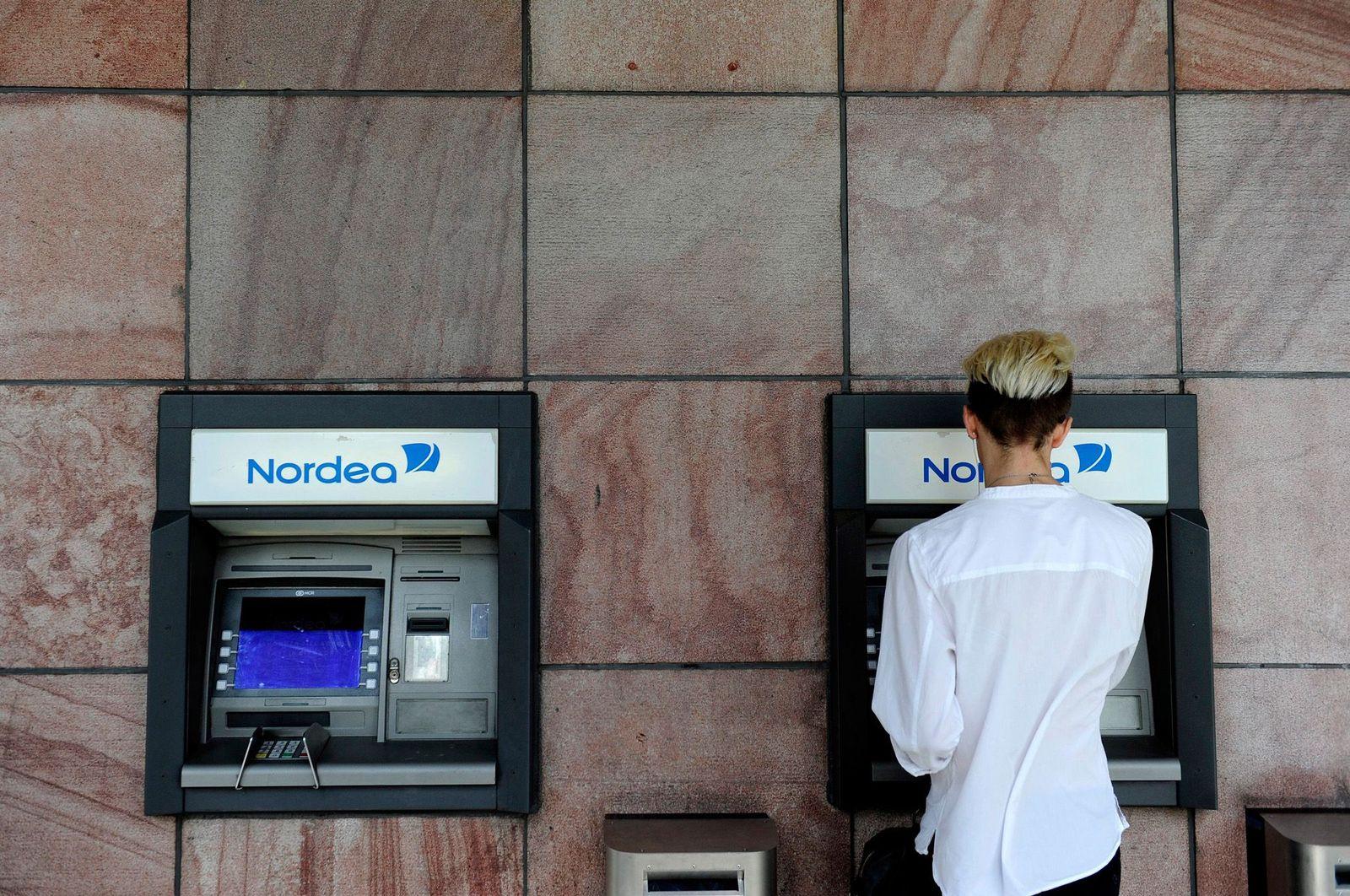 Bankautomat / Schweden