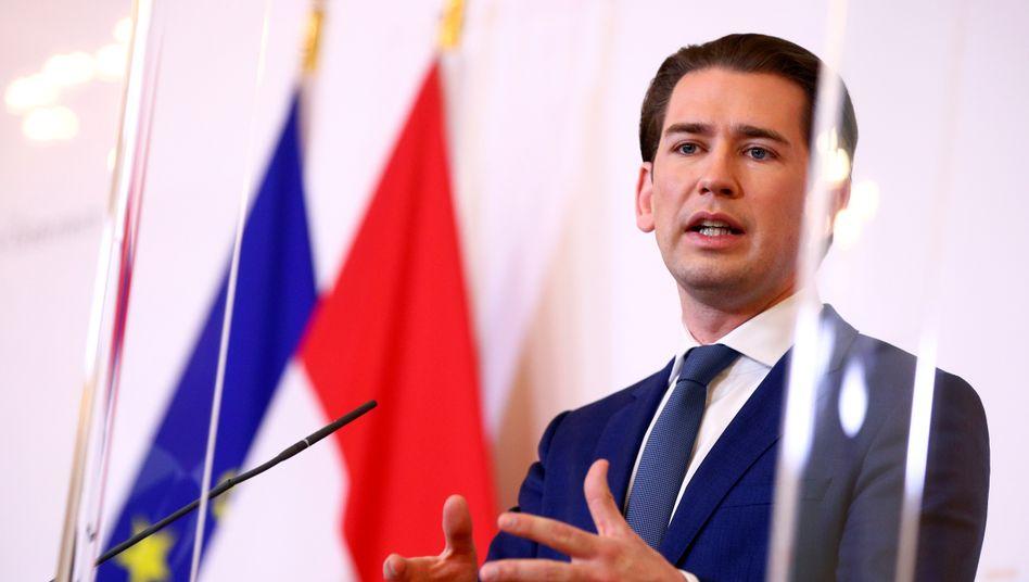 Österreichs Kanzler Kurz soll am Wochenende mehrfach mit Armin Laschet telefoniert haben