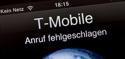 Kein Anschluss: Gespräche im T-Mobile-Netz waren für viele Handybesitzer wegen des Netzausfalls nicht möglich