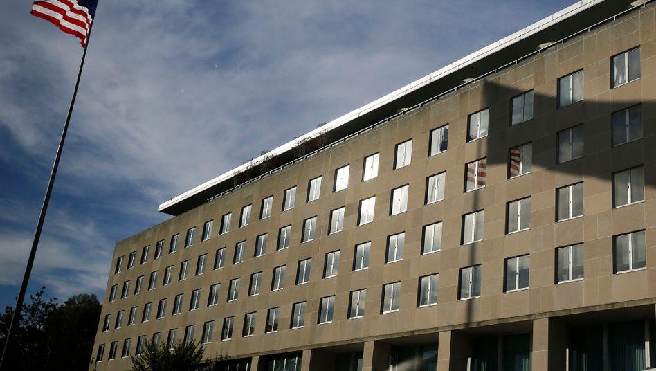 US-Außenministerium (Archivbild): Mitarbeiterzahl chinesischer Medienunternehmen in den USA soll beschränkt werden