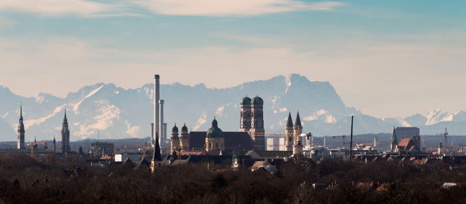 München deutschlandweit am dichtesten besiedelt