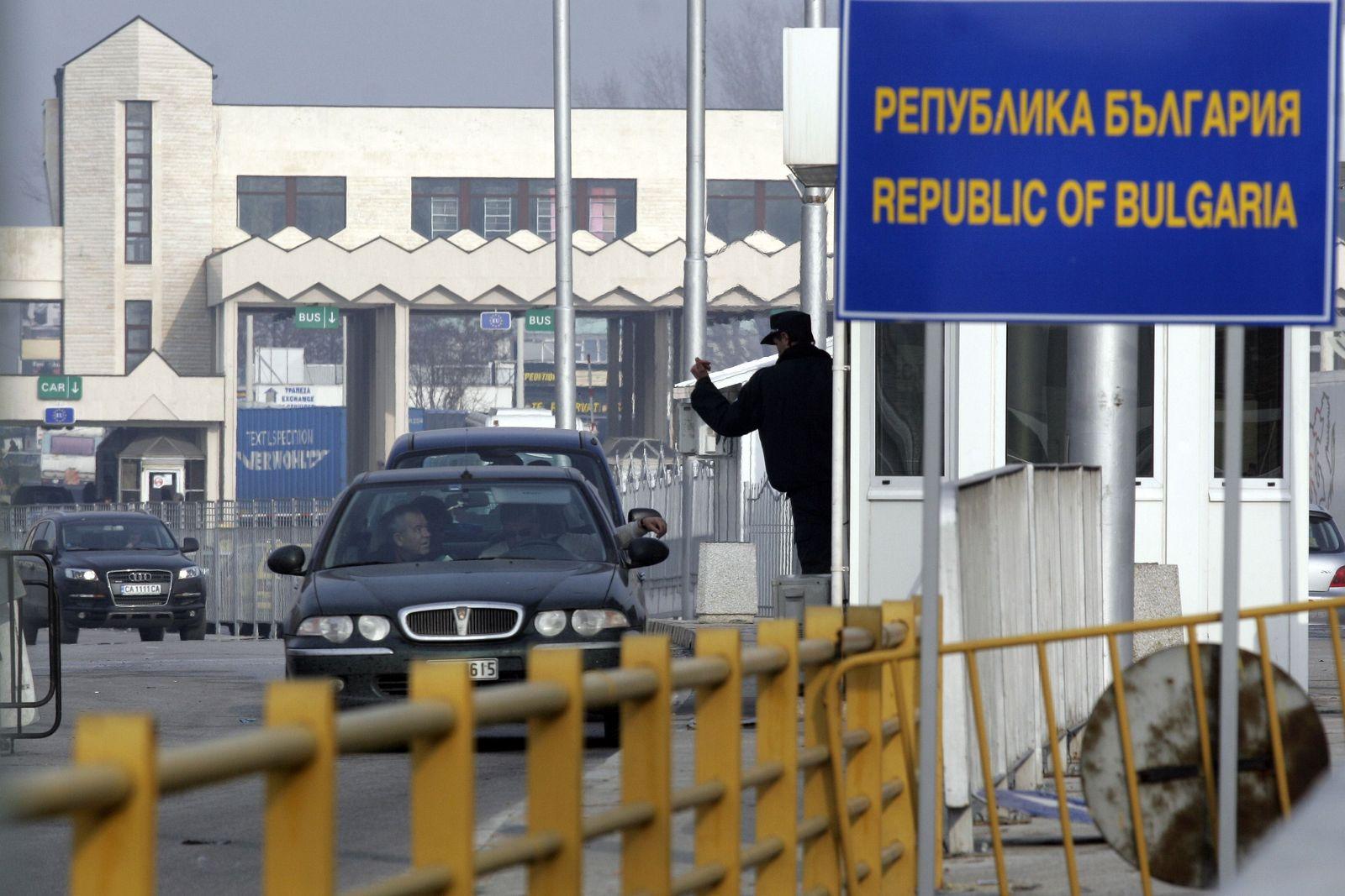 Grenze/ Bulgarien/ Griechenland/ Schengen