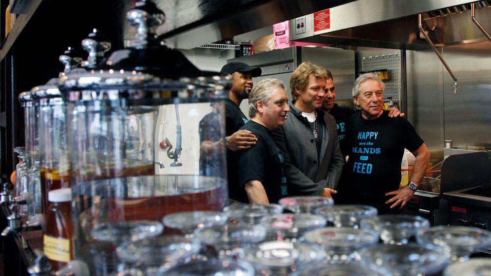 Jon Bon Jovi: Suppenküche eines Rockstars