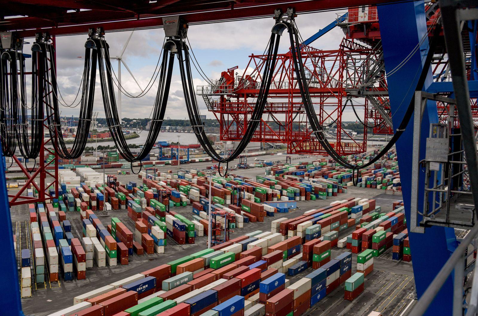 Netzwelt/ 5G/ Hamburger Hafen