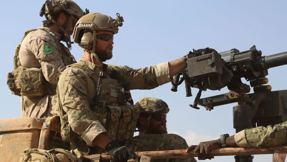 US-Spezialeinheit in Syrien (Archivbild)