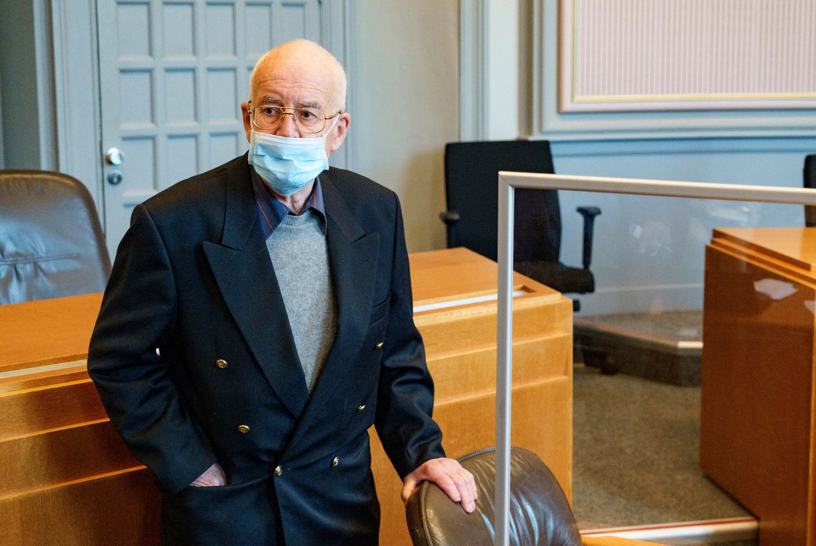 Prozess gegen 84-Jährigen wegen Besitzes eines Panzers