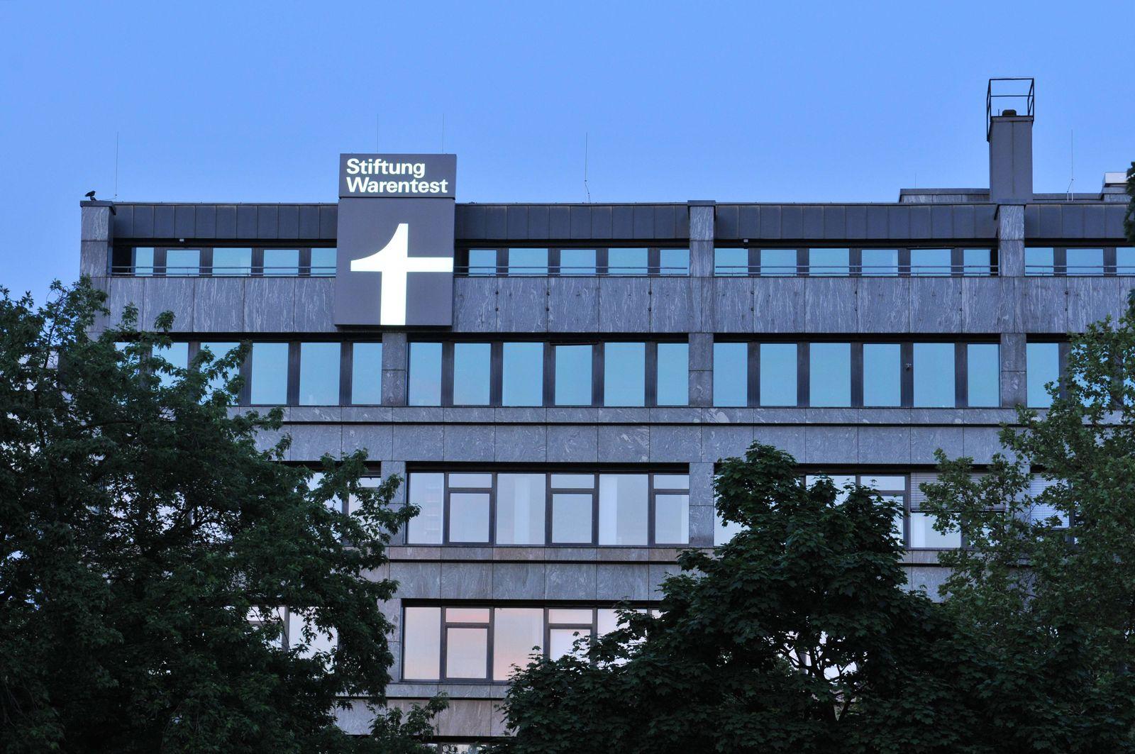 EINMALIGE VERWENDUNG Stiftung Warentest