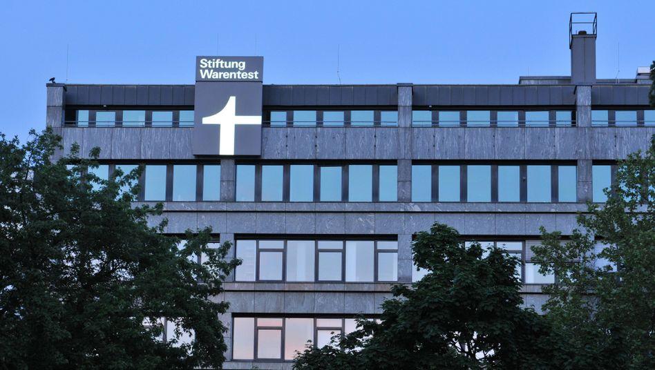 """Zentrale der Stiftung Warentest in Berlin: """"Wer, wenn nicht die Stiftung Warentest, darf den Finger in die Wunde legen?"""""""