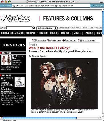 """""""New York Magazine""""-Website mit Beachy-Artikel: Verwirrspiel à la Warhol"""