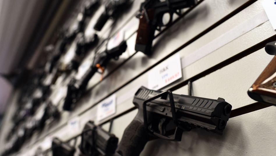Gute Geschäfte: Waffen sind in den USA beliebt