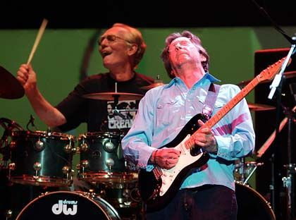 Baker, Clapton: Dahingenuscheltes Comeback