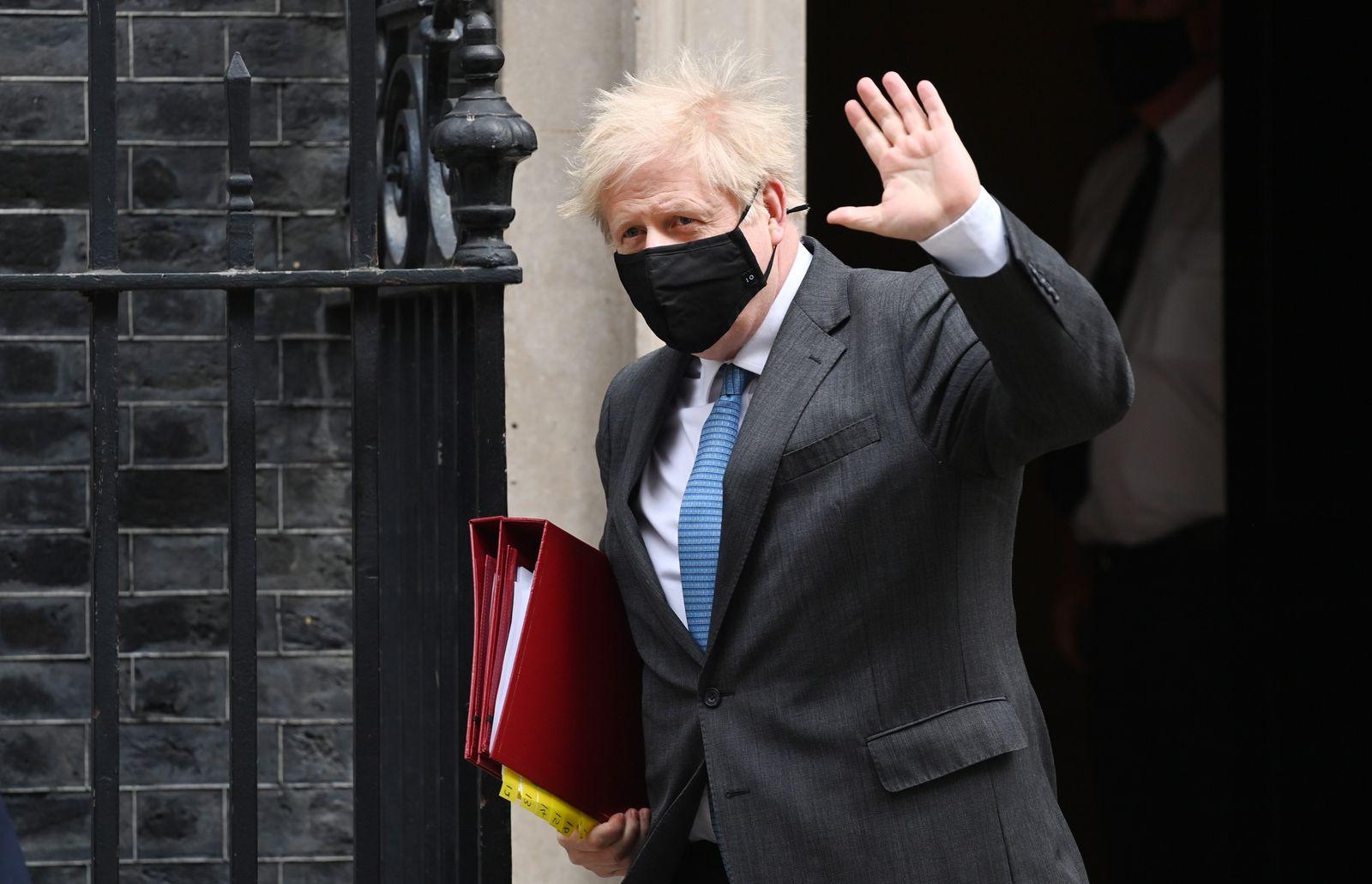 Prime Minister Boris Johnson under pressure following sleaze allegations