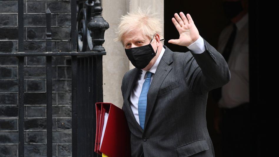Boris Johnson: Der britische Premier muss sich im Parlament den Fragen der Abgeordneten stellen