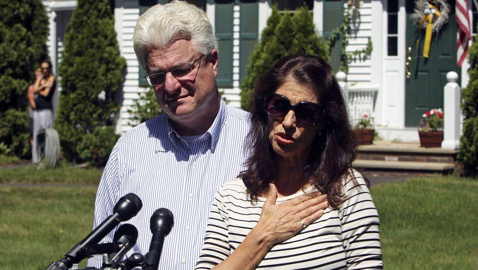 Foleys Eltern John und Diane: Anruf vom Papst
