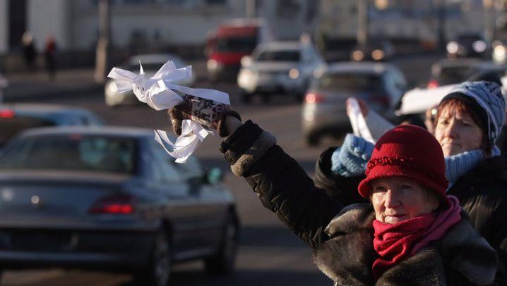 Moskau: Mit Ballons gegen Putin