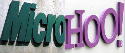 """Firmenlogos von Microsoft, Yahoo: """"Miteinander Ausgehen ist eine Sache, eine Partnerschaft eine andere"""""""