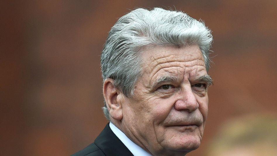 """Gauck: Ausloten, """"welche Möglichkeiten von Wiedergutmachung es geben könnte"""""""