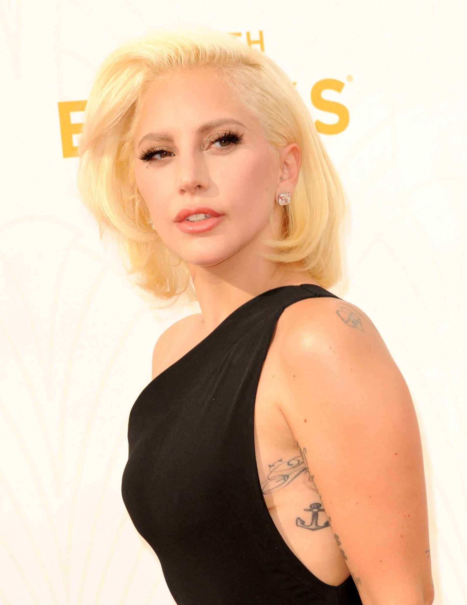 Lady Gaga at arrivals for 67th Primetime Emmy Awards 2015 - Arrivals 2, The Microsoft Theater (formerly Nokia Theatre L.