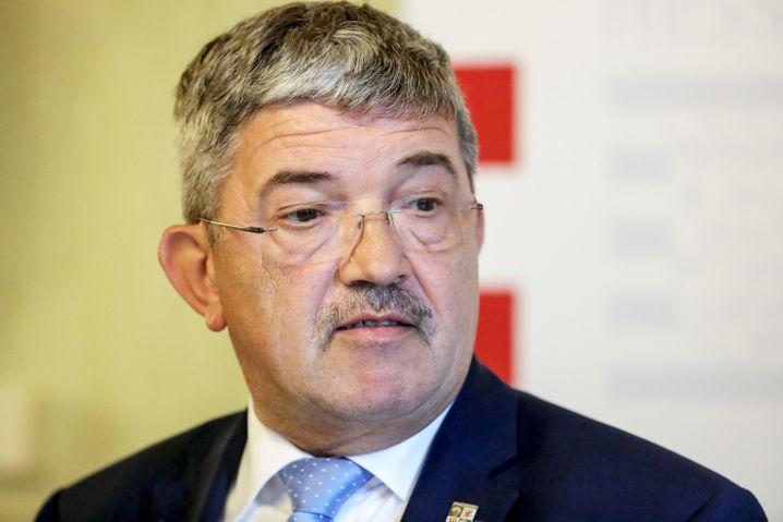 Mecklenburg-Vorpommerns Innenminister Lorenz Caffier (CDU)