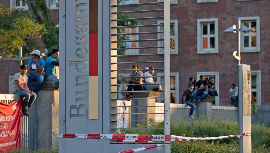 Protest in Nürnberg: Drohung mit Hungerstreik